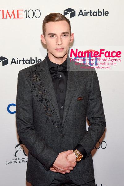 TIME 100 Gala 2018 Red Carpet Arrivals  Adam Rippon - NameFace Photo Agency New York City - hello@nameface.com - nameface.com - Photo by Daniela Kirsch