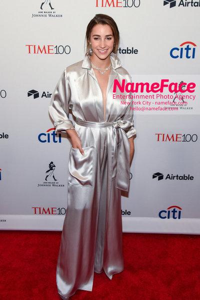 TIME 100 Gala 2018 Red Carpet Arrivals  Aly Raisman - NameFace Photo Agency New York City - hello@nameface.com - nameface.com - Photo by Daniela Kirsch