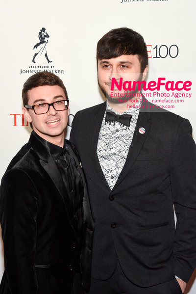 TIME 100 Gala 2018 Red Carpet Arrivals  Christian Siriano and Brad Walsh - NameFace Photo Agency New York City - hello@nameface.com - nameface.com - Photo by Daniela Kirsch