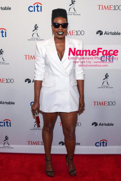 TIME 100 Gala 2018 Red Carpet Arrivals  Leslie Jones - NameFace Photo Agency New York City - hello@nameface.com - nameface.com - Photo by Daniela Kirsch