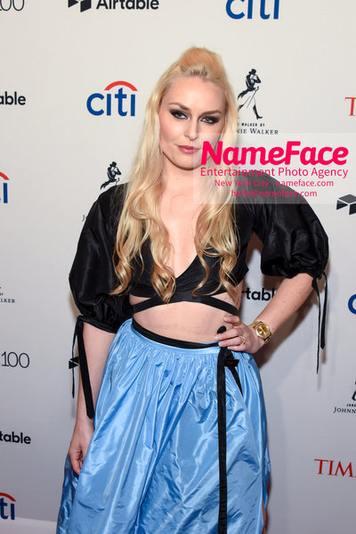 TIME 100 Gala 2018 Red Carpet Arrivals  Lindsey Vonn - NameFace Photo Agency New York City - hello@nameface.com - nameface.com - Photo by Daniela Kirsch