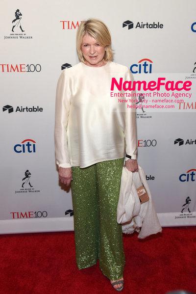 TIME 100 Gala 2018 Red Carpet Arrivals  Martha Stewart - NameFace Photo Agency New York City - hello@nameface.com - nameface.com - Photo by Daniela Kirsch