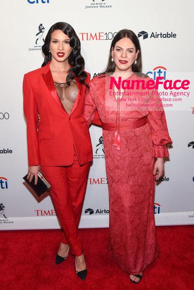 TIME 100 Gala 2018 Red Carpet Arrivals  Nomi Ruiz and Daniela Vega - NameFace Photo Agency New York City - hello@nameface.com - nameface.com - Photo by Daniela Kirsch