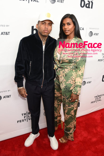 Unbanned: The Legend of AJ1 Movie Premiere at 17th Annual Tribeca Film Festival Kid Ink and Asiah Collins - NameFace Photo Agency New York City - hello@nameface.com - nameface.com - Photo by Daniela Kirsch