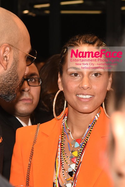 2018 AMREF Artball Honoring Toyin Ojih Odutola with the Amref Rees Visionary Award - Raising funds for healthcare in Africa  Alicia Keys - NameFace Photo Agency New York City - hello@nameface.com - nameface.com - Photo by Daniela Kirsch