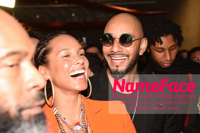 2018 AMREF Artball Honoring Toyin Ojih Odutola with the Amref Rees Visionary Award - Raising funds for healthcare in Africa  Alicia Keys and Swizz Beatz - NameFace Photo Agency New York City - hello@nameface.com - nameface.com - Photo by Daniela Kirsch