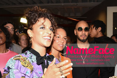 2018 AMREF Artball Honoring Toyin Ojih Odutola with the Amref Rees Visionary Award - Raising funds for healthcare in Africa  Megalyn Echikunwoke, Alicia Keys and Swizz Beatz - NameFace Photo Agency New York City - hello@nameface.com - nameface.com - Photo by Daniela Kirsch