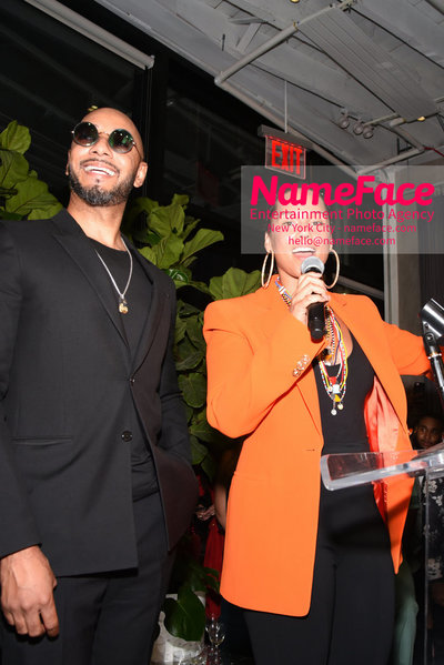 2018 AMREF Artball Honoring Toyin Ojih Odutola with the Amref Rees Visionary Award - Raising funds for healthcare in Africa  Swizz Beatz and Alicia Keys - NameFace Photo Agency New York City - hello@nameface.com - nameface.com - Photo by Daniela Kirsch