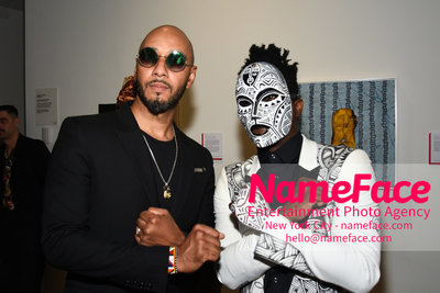 2018 AMREF Artball Honoring Toyin Ojih Odutola with the Amref Rees Visionary Award - Raising funds for healthcare in Africa  Swizz Beatz - NameFace Photo Agency New York City - hello@nameface.com - nameface.com - Photo by Daniela Kirsch
