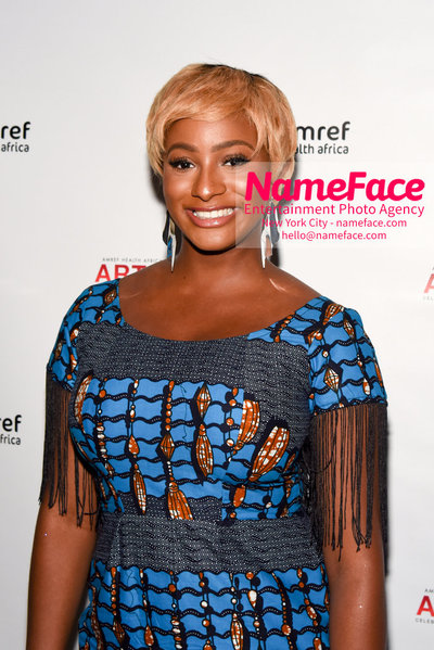 2018 AMREF Artball Honoring Toyin Ojih Odutola with the Amref Rees Visionary Award - Raising funds for healthcare in Africa  DJ Cuppy - NameFace Photo Agency New York City - hello@nameface.com - nameface.com - Photo by Daniela Kirsch