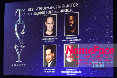 Tony Awards Nominations Announcements - 2018 Atmosphere - NameFace Photo Agency New York City - hello@nameface.com - nameface.com - Photo by Daniela Kirsch