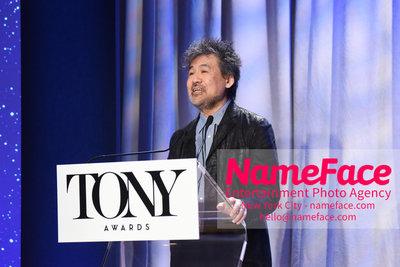 Tony Awards Nominations Announcements - 2018 David Henry Hwang - NameFace Photo Agency New York City - hello@nameface.com - nameface.com - Photo by Daniela Kirsch