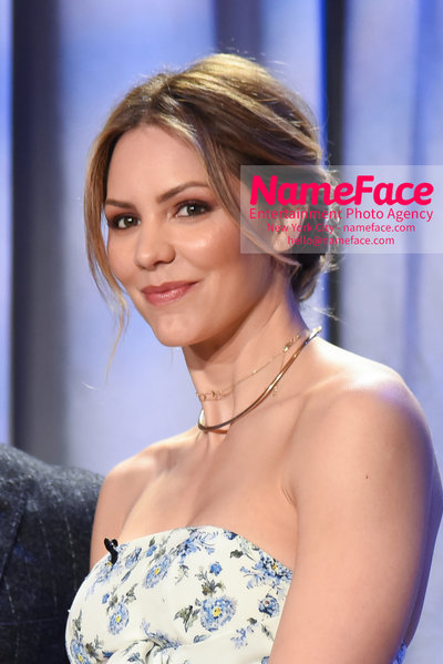Tony Awards Nominations Announcements - 2018 Katharine McPhee - NameFace Photo Agency New York City - hello@nameface.com - nameface.com - Photo by Daniela Kirsch