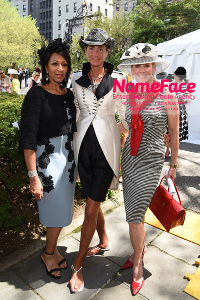 36th Annual Frederick Law Olmsted Awards Luncheon Amelia Ogunlesi, Somers Farkas and Guest - NameFace Photo Agency New York City - hello@nameface.com - nameface.com - Photo by Daniela Kirsch