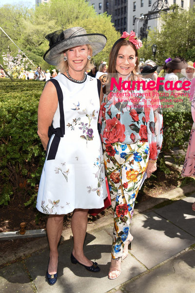 36th Annual Frederick Law Olmsted Awards Luncheon Clelia Zacharias and Judith Giuliani - NameFace Photo Agency New York City - hello@nameface.com - nameface.com - Photo by Daniela Kirsch