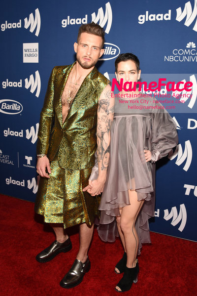 The GLAAD Rising Stars Luncheon at the 29th Annual GLAAD Media Awards Nico Tortorella and Bethany Meyers - NameFace Photo Agency New York City - hello@nameface.com - nameface.com - Photo by Daniela Kirsch