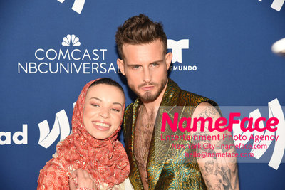 The GLAAD Rising Stars Luncheon at the 29th Annual GLAAD Media Awards Blair Imani and Nico Tortorella - NameFace Photo Agency New York City - hello@nameface.com - nameface.com - Photo by Daniela Kirsch