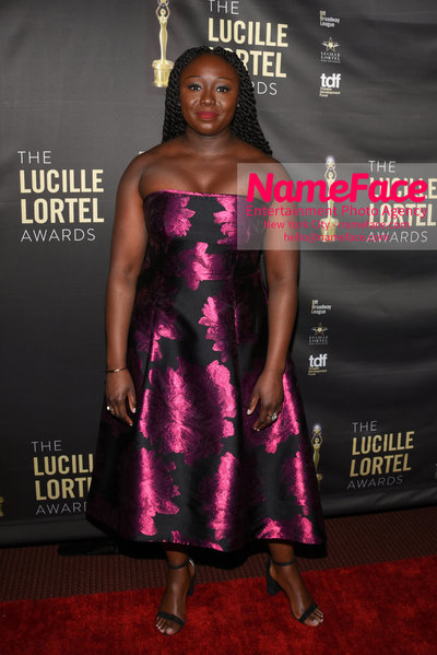 2018 Lucille Lortel Awards Arrivals Jocelyn Bioh - NameFace Photo Agency New York City - hello@nameface.com - nameface.com - Photo by Daniela Kirsch