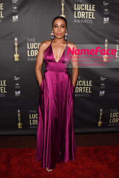 2018 Lucille Lortel Awards Arrivals Karen Pittman - NameFace Photo Agency New York City - hello@nameface.com - nameface.com - Photo by Daniela Kirsch