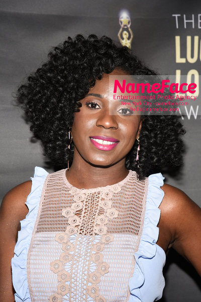 2018 Lucille Lortel Awards Arrivals Dede M. Ayite - NameFace Photo Agency New York City - hello@nameface.com - nameface.com - Photo by Daniela Kirsch