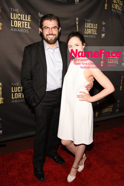 2018 Lucille Lortel Awards Arrivals Jason OConnell and Kate Hamill - NameFace Photo Agency New York City - hello@nameface.com - nameface.com - Photo by Daniela Kirsch