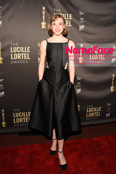 2018 Lucille Lortel Awards Arrivals Julia Knitel - NameFace Photo Agency New York City - hello@nameface.com - nameface.com - Photo by Daniela Kirsch