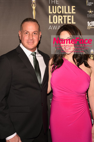 2018 Lucille Lortel Awards Arrivals Matthew Lombardo and Lesli Margherita - NameFace Photo Agency New York City - hello@nameface.com - nameface.com - Photo by Daniela Kirsch