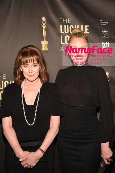 2018 Lucille Lortel Awards Arrivals Patricia Richardson and Guest - NameFace Photo Agency New York City - hello@nameface.com - nameface.com - Photo by Daniela Kirsch