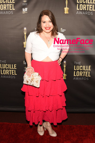 2018 Lucille Lortel Awards Arrivals Vanessa Aspillaga - NameFace Photo Agency New York City - hello@nameface.com - nameface.com - Photo by Daniela Kirsch
