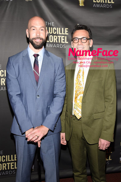 2018 Lucille Lortel Awards Arrivals Wade McCollum and Guest - NameFace Photo Agency New York City - hello@nameface.com - nameface.com - Photo by Daniela Kirsch