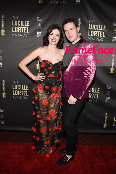 2018 Lucille Lortel Awards Arrivals Barrett Wilbert Weed and Grey Henson - NameFace Photo Agency New York City - hello@nameface.com - nameface.com - Photo by Daniela Kirsch