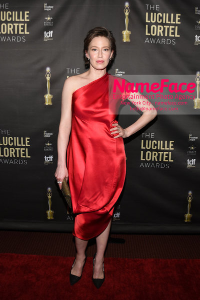 2018 Lucille Lortel Awards Arrivals Carrie Coon - NameFace Photo Agency New York City - hello@nameface.com - nameface.com - Photo by Daniela Kirsch
