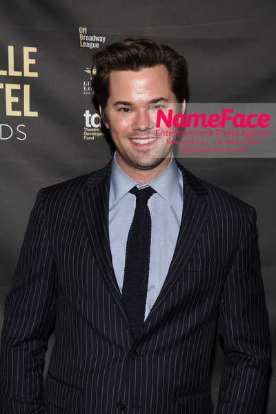2018 Lucille Lortel Awards Arrivals Andrew Rannells - NameFace Photo Agency New York City - hello@nameface.com - nameface.com - Photo by Daniela Kirsch