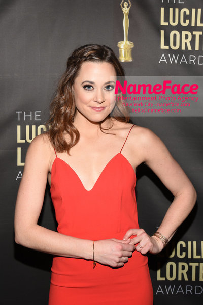 2018 Lucille Lortel Awards Arrivals Erika Henningsen - NameFace Photo Agency New York City - hello@nameface.com - nameface.com - Photo by Daniela Kirsch
