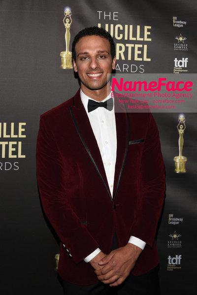 2018 Lucille Lortel Awards Arrivals Ariel Stachel - NameFace Photo Agency New York City - hello@nameface.com - nameface.com - Photo by Daniela Kirsch
