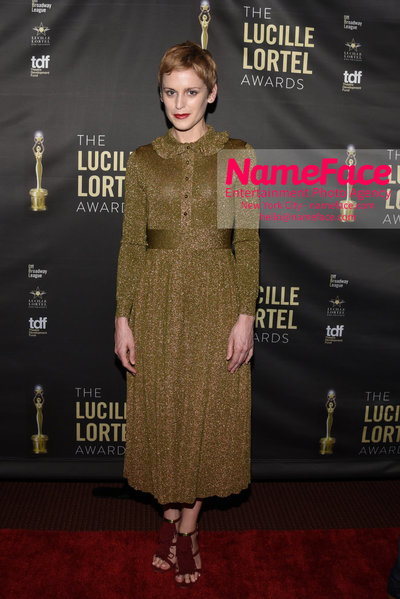 2018 Lucille Lortel Awards Arrivals Denise Gough - NameFace Photo Agency New York City - hello@nameface.com - nameface.com - Photo by Daniela Kirsch