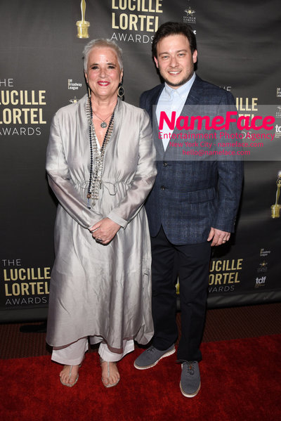 2018 Lucille Lortel Awards Arrivals Eve Ensler and Guest - NameFace Photo Agency New York City - hello@nameface.com - nameface.com - Photo by Daniela Kirsch