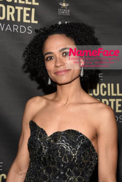 2018 Lucille Lortel Awards Arrivals Lauren Ridloff - NameFace Photo Agency New York City - hello@nameface.com - nameface.com - Photo by Daniela Kirsch