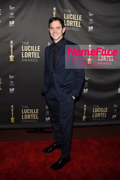 2018 Lucille Lortel Awards Arrivals Santino Fontana - NameFace Photo Agency New York City - hello@nameface.com - nameface.com - Photo by Daniela Kirsch