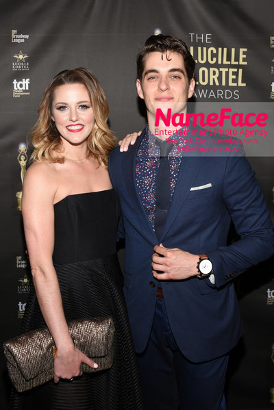2018 Lucille Lortel Awards Arrivals Taylor Louderman and Kyle Selig - NameFace Photo Agency New York City - hello@nameface.com - nameface.com - Photo by Daniela Kirsch