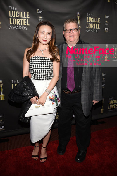 2018 Lucille Lortel Awards Arrivals Guest and James Morgan - NameFace Photo Agency New York City - hello@nameface.com - nameface.com - Photo by Daniela Kirsch