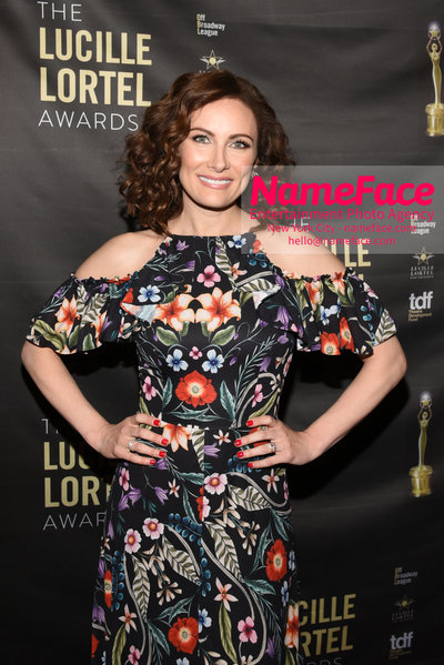 2018 Lucille Lortel Awards Arrivals Laura Benanti - NameFace Photo Agency New York City - hello@nameface.com - nameface.com - Photo by Daniela Kirsch