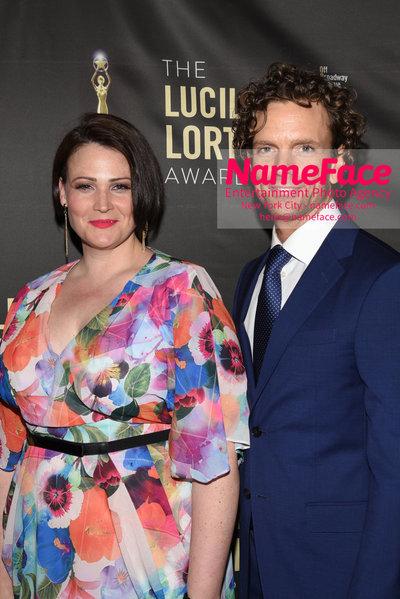 2018 Lucille Lortel Awards Arrivals Lisa Howard and Paul Alexander Nolan - NameFace Photo Agency New York City - hello@nameface.com - nameface.com - Photo by Daniela Kirsch