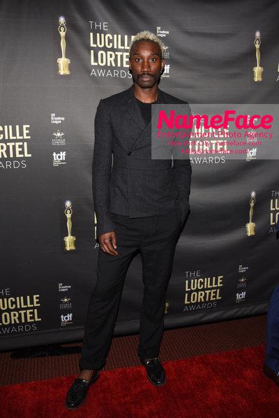 2018 Lucille Lortel Awards Arrivals Nathan Stewart-Jarrett - NameFace Photo Agency New York City - hello@nameface.com - nameface.com - Photo by Daniela Kirsch