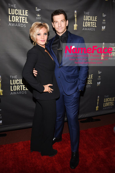 2018 Lucille Lortel Awards Arrivals Orfeh and Andy Karl - NameFace Photo Agency New York City - hello@nameface.com - nameface.com - Photo by Daniela Kirsch