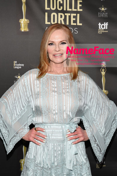 2018 Lucille Lortel Awards Arrivals Marg Helgenberger - NameFace Photo Agency New York City - hello@nameface.com - nameface.com - Photo by Daniela Kirsch
