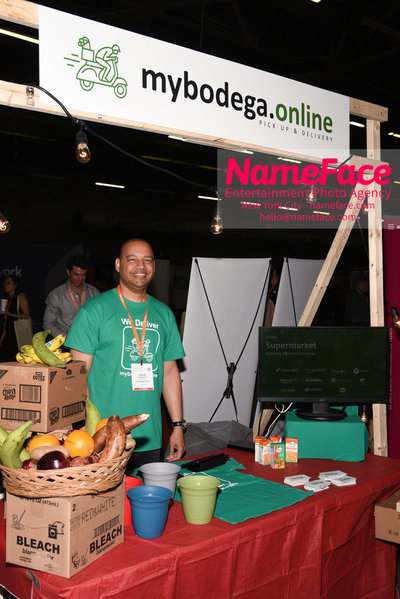 Techday 2018 NYC Startup Exhibition Carlos Aguasvivas - Mybodega - NameFace Photo Agency New York City - hello@nameface.com - nameface.com - Photo by Daniela Kirsch