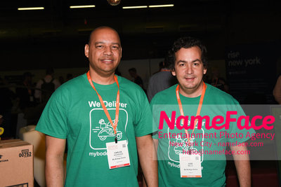 Techday 2018 NYC Startup Exhibition Carlos Aguasvivas and Jose Bello - Mybodega - NameFace Photo Agency New York City - hello@nameface.com - nameface.com - Photo by Daniela Kirsch