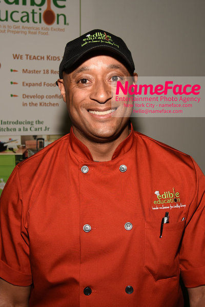 Techday 2018 NYC Startup Exhibition Quincy Jackson - Edible Education - Former White House Chef to Bill Clinton, George W. Bush and Barack Obama - NameFace Photo Agency New York City - hello@nameface.com - nameface.com - Photo by Daniela Kirsch