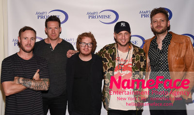Matts Promise Foundation 13th Annual Benefit Concert Eddie Fisher, Zach Filkins, Drew Brown, Brent Kutzle and Ryan Tedder - OneRepublic - NameFace Photo Agency New York City - hello@nameface.com - nameface.com - Photo by Daniela Kirsch